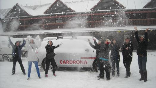 Queenstown revels in new snow