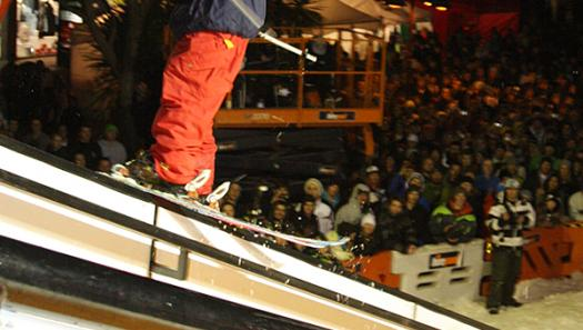 Parklife Invitational brings freestylers from mountain to town