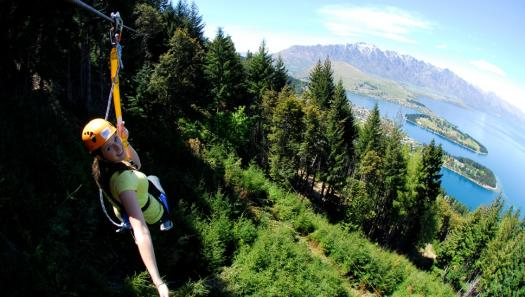 Ziptrek picks up Qualmark Enviro-Gold