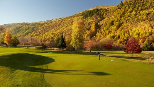 Escape to the true colours of autumn in Queenstown