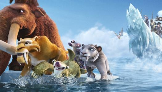 'Ice Age 4: Continental Drift' New Zealand movie premiere at Queenstown Winter Festival