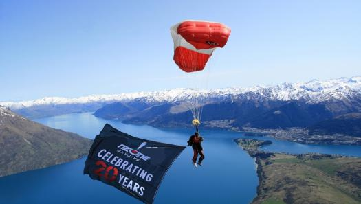 NZONE Skydive celebrates twenty years in the sky