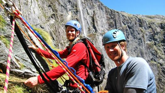 Rock Climbing Twins Help Protect New Zealand's Natural Heritage