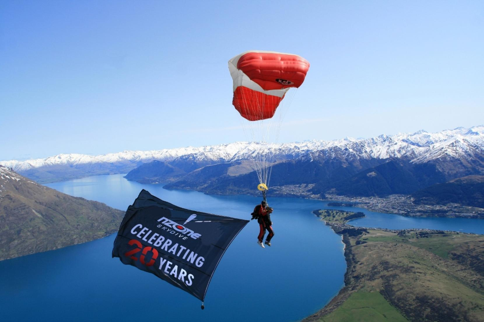 Nzone Skydive Celebrates Twenty Years In The Sky Experience Queenstown