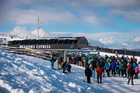 New snow a drawcard at Queenstowns Coronet Peak