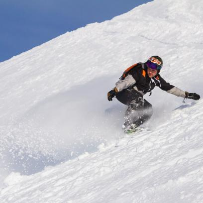 Boarder heaven for Michael Bird at The Remarkables