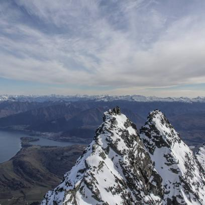 Queenstown Mountain Guides double cone