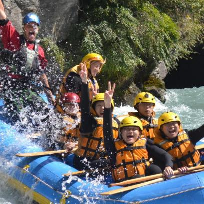 Queenstown Rafting 14