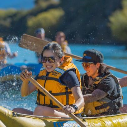 Queenstown Rafting Flow Fun Canoes and Rafts 3
