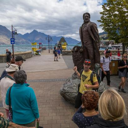 William Rees Queenstown walking tour