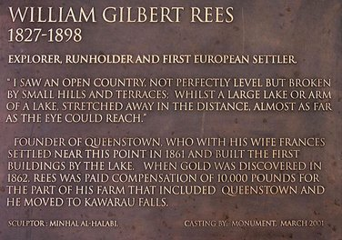 William Gilbert Rees plaque