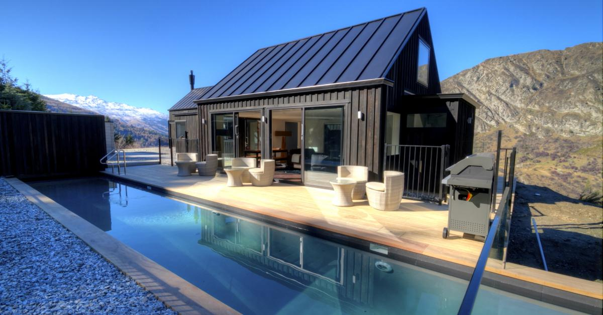 The k hanga nest in maori experience queenstown for Pool design auckland
